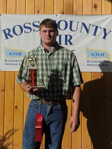 Gage Raypole, American Rednecks, won Reserve Champion