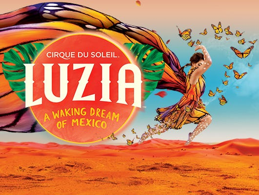 LUZIA by Cirque du Soleil will be in Atlanta through 11/19. Discounted tickets for Insiders!