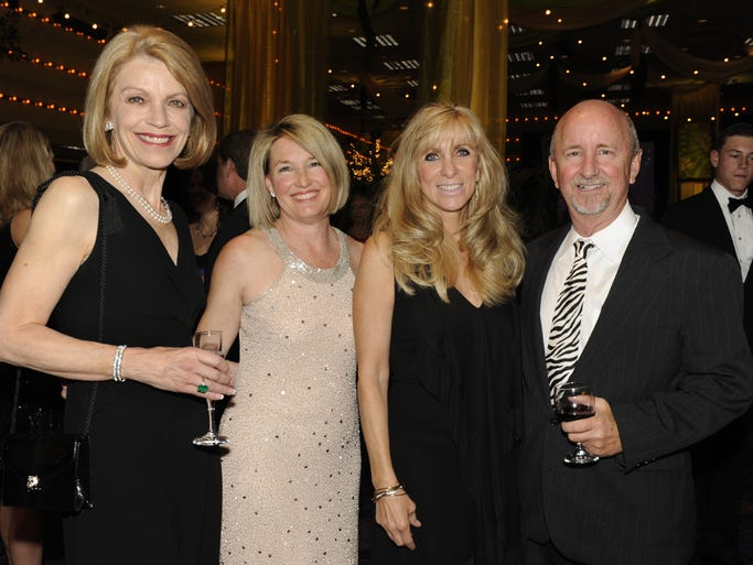 Debbie Day, left, Traci Pitts, Kelli Cooper and Rod Cooper attend the JDRF Vision Gala Saturday, May 3, 2014 at John Ascuaga's Nugget.