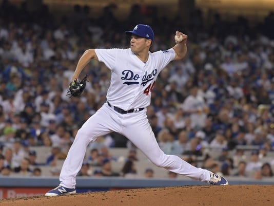 USP MLB: SAN DIEGO PADRES AT LOS ANGELES DODGERS S BBN USA CA