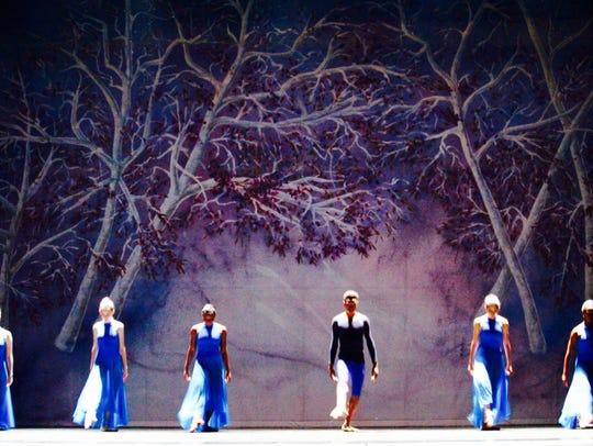 Choreographed by Sara Sanford, ADT dancers perform