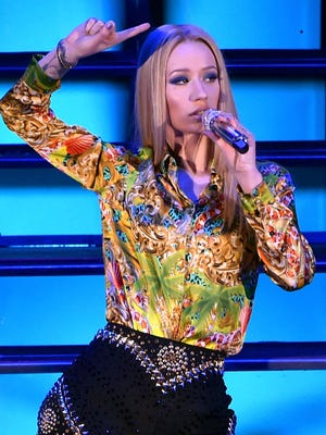 Iggy Azalea performs onstage during We Can Survive 2014 at the Hollywood Bowl on October 24, 2014 in Los Angeles.