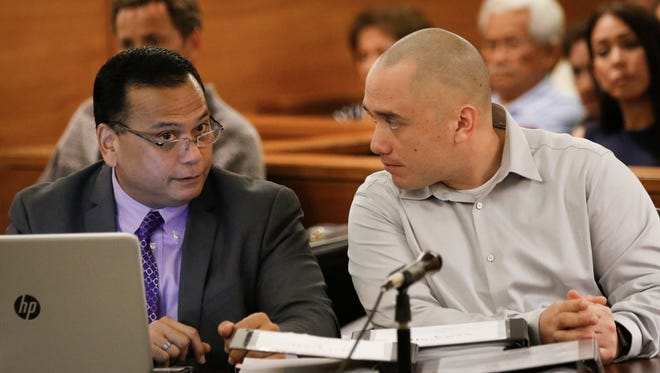 A motion hearing in the Mark Torre Jr. murder trial took place at the Superior Court of Guam on Jan. 27.