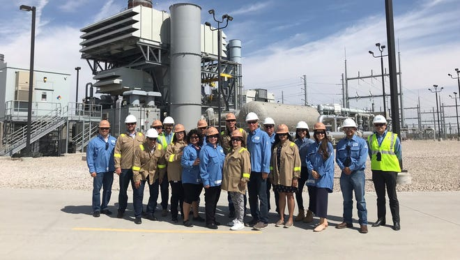 Democrats and Republicans in the New Mexico House of Representatives visited various El Paso Electric facilities on their first stop of the Santa Teresa Area Jobs Listening Tour.