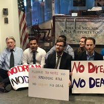 Protesters arrested at McCain's office amid call for new DACA legislation