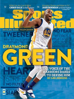 Sports Illustrated cover featuring Draymond Green on May 17, 2016.