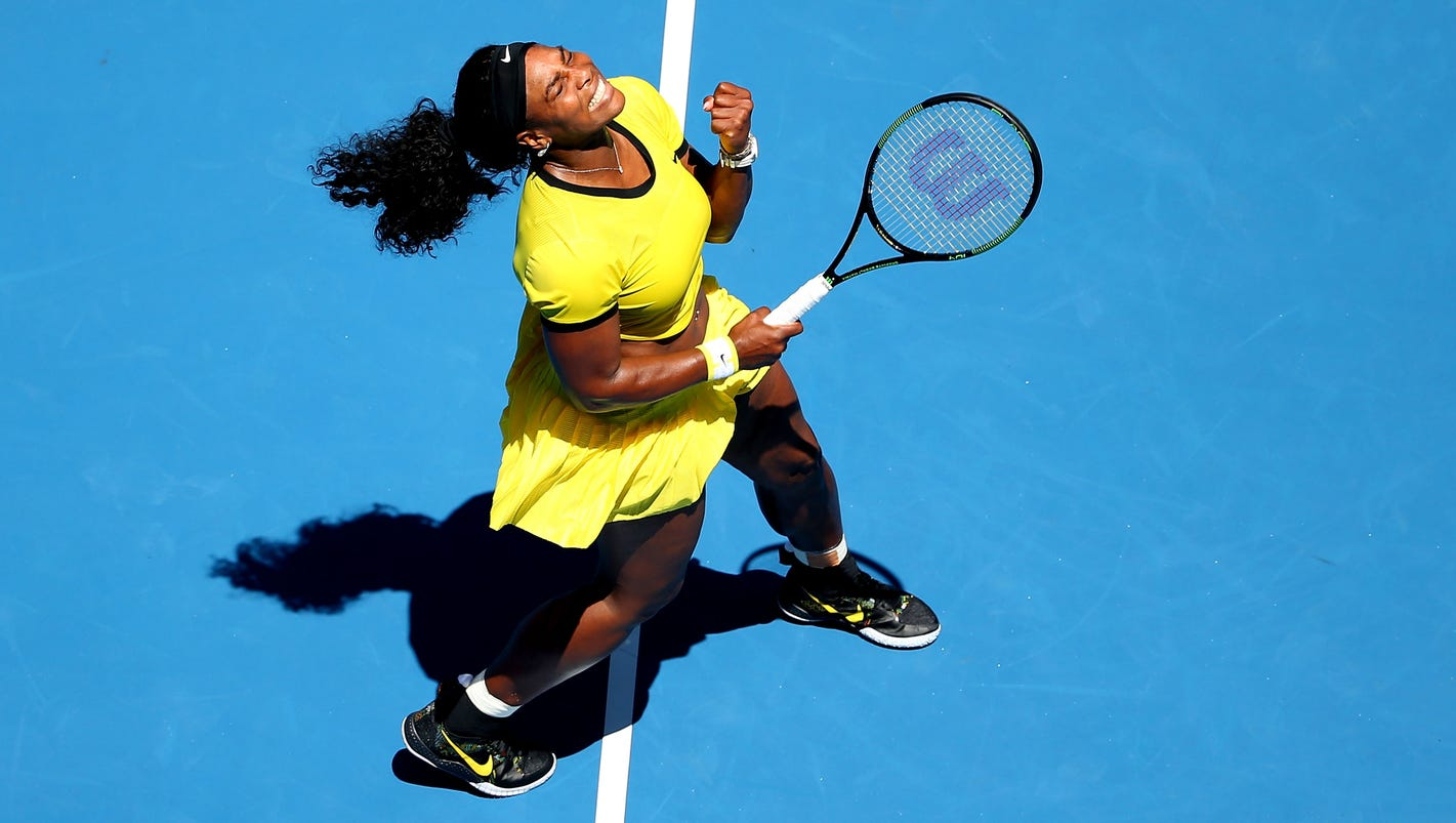 serena williams: rising japanese tennis star naomi osaka is 'very