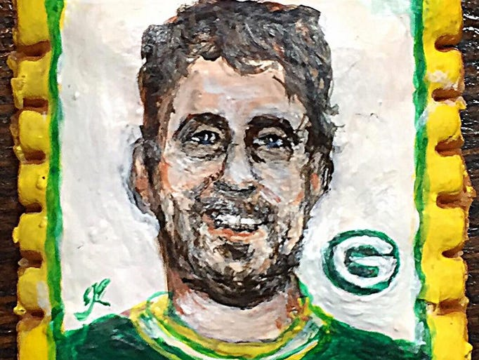 Inspired by Aaron Rodgers' brilliant performance against