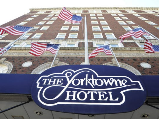 The Yorktowne Hotel has long been a destination for visitors to downtown York.
