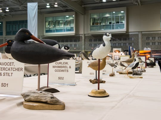 Several sculptures are on display during 47th Annual Ward World Championship Wildfowl Carving Competition and Art Festival.