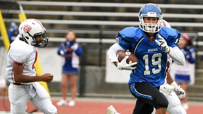 From 2016: Find out where Demarest WR Ryan Vadis ranks among North Jersey receiving leaders.