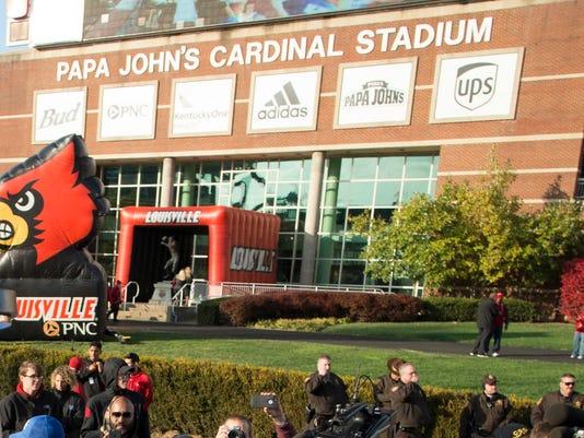 d3cfbad39ce Louisville removing Papa John s from football stadium name