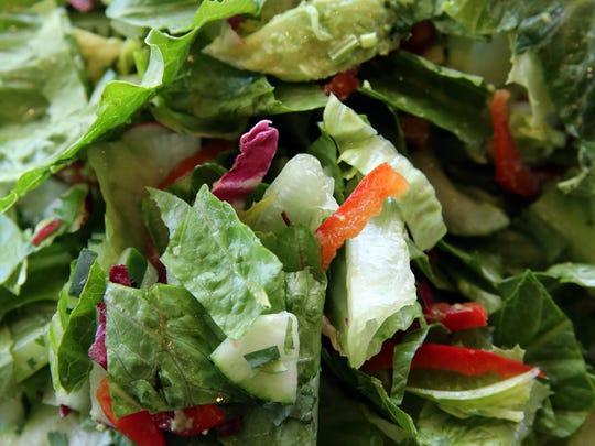 Martino's signature Avocado Salad.