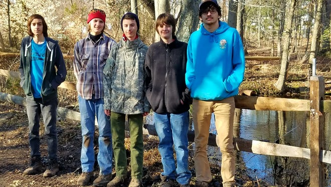 Matthew Cody enlisted the help of his fellow scouts to rehabilitate and conserve four acres of property in Milltown.
