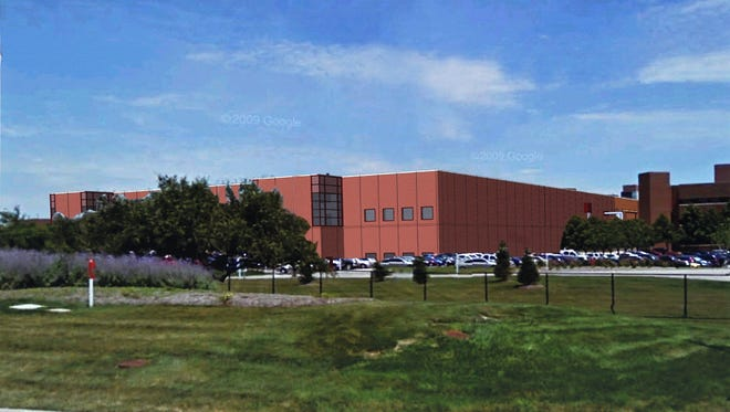 This is an artist's rendering of Eli Lilly and Co.'s new insulin cartridge manufacturing plant off Kentucky Avenue. Lilly is gearing up its insulin production to sell a Lantus lookalike and other new insulins.