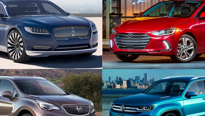 Expect plenty of goodies under the tree if you're shopping for a new car in 2016. Look for advances in technology, comfort, connectivity and safety, as well as new styling statements. You can see many of these future stars at the North American International Auto Show in Detroit in January.
