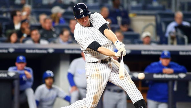After he was lifted for a pinch-hitter in the ninth inning of Friday night's loss to Oakland, Headley was not in the starting lineup for Saturday's game against the A's.