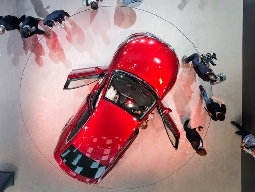 The 87th Geneva International Motor Show in Geneva,