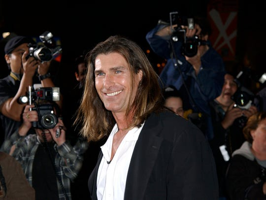 "Actor Fabio attends the premiere of ""Shanghai Knights"""