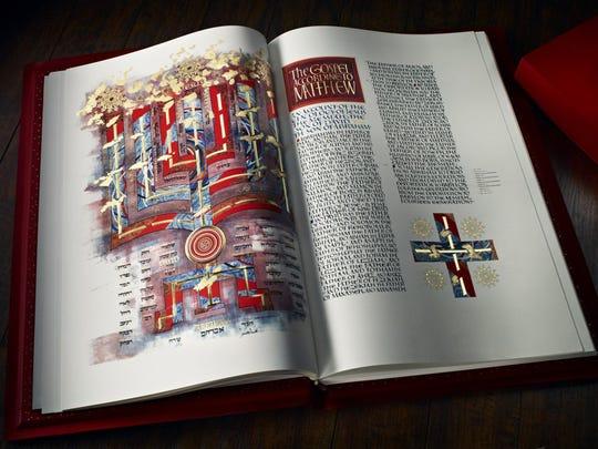 The Saint John's Bible Heritage Edition. The Gospel of Matthew.