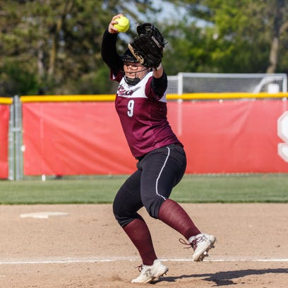 Softball roundup: Falls clinches share of GMC title