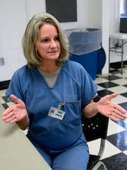 Deidre Cox came to Gadsden Correctional Facility in 2009 after escaping from a work release program. She attributes many of her problems to a long line of family abuse. She was sexually abused by her father at a very young age. Now she is speaking out against abuse in hopes of breaking the cycle of abuse.