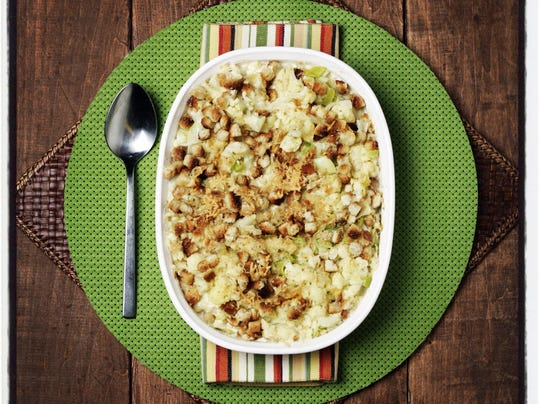 Thanksgiving side dish recipe cauliflower leek and for Cuisine 670 lothrop detroit
