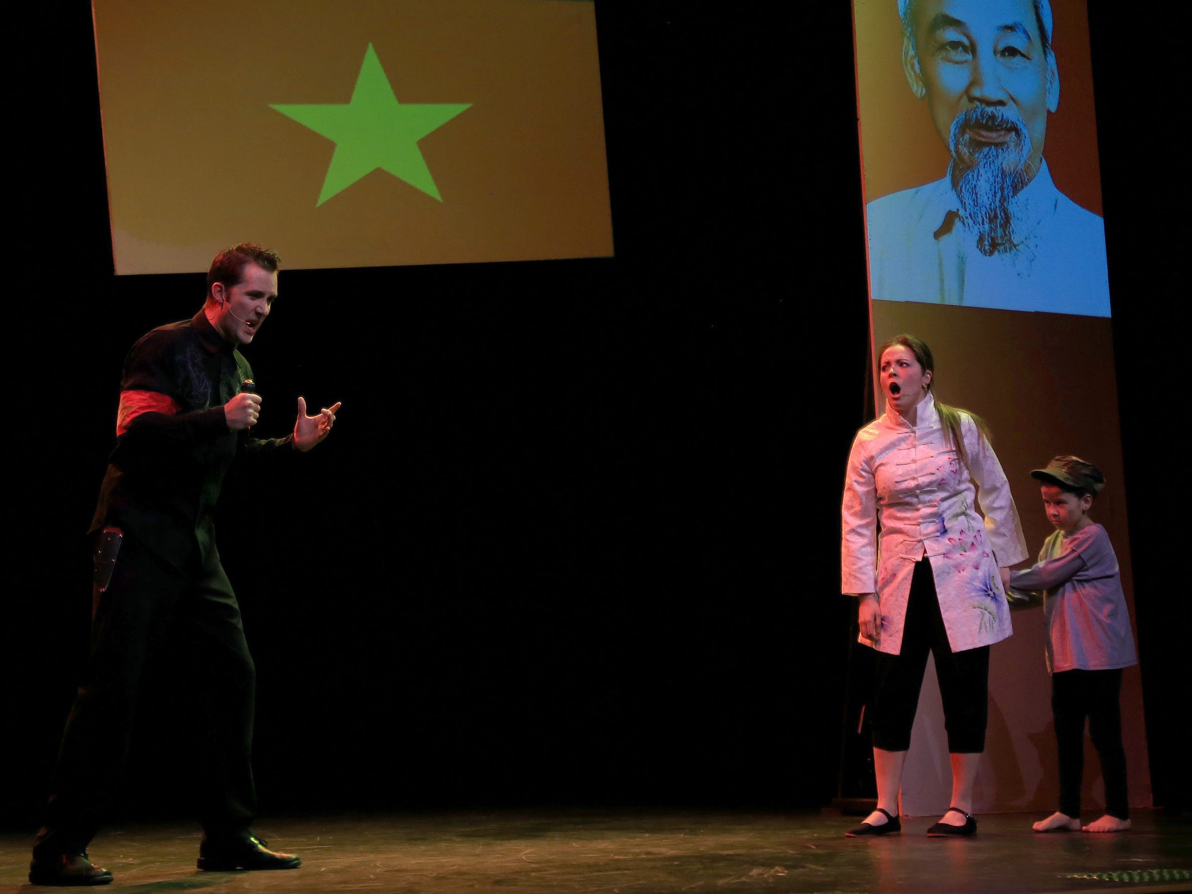 "The Stage Door's production of ""Miss Saigon — In Concert"""