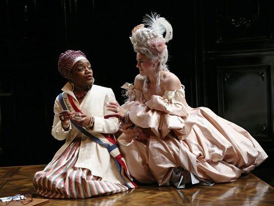 Deposed queen Marie Antoinette (Jessica Lynn Carroll,