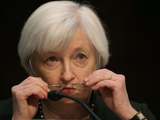 Federal Reserve Chairman Janet Yellen testifies before