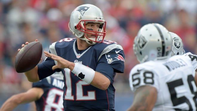 Patriots QB Tom Brady got his 150th NFL  win Sunday.