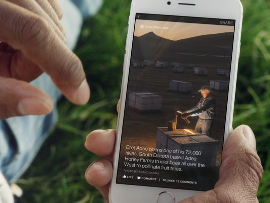 Facebook launched Instant Articles.