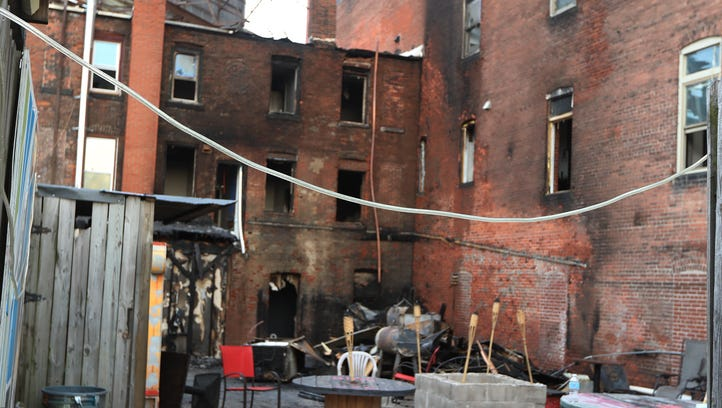 Downtown bar, condos damaged in 2-alarm fire