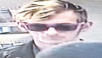Police are looking for this man in connection with a robbery at the West Fair Avenue branch of Fairfield National Bank
