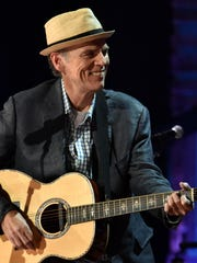 John Hiatt says he loves the unplanned nature of his acoustic performances with Lyle Lovett.