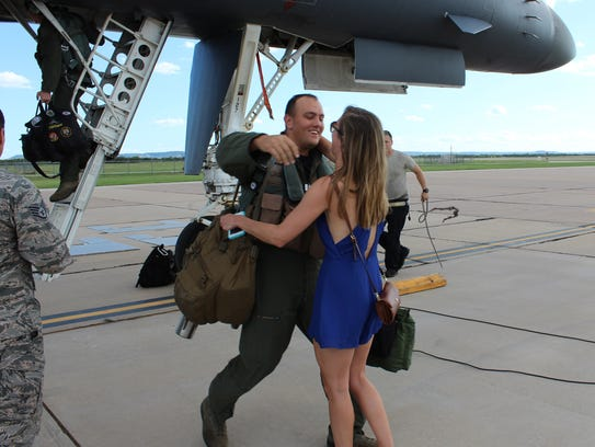 Brent, the second crewman off a Dyess Air Force Base