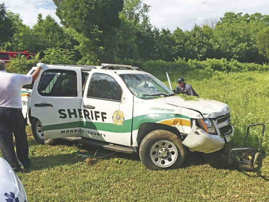 Monroe County Sheriff's Office crash
