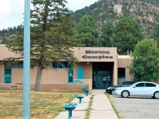 Future plans call for a new judicial building in the Horton Complex compound in Ruidoso.