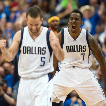 Apr 26, 2015; Dallas, TX, USA; Dallas Mavericks forward
