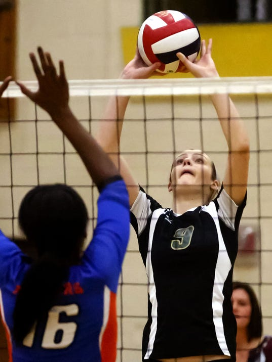 Racine Park at Greenfield Girls Volleyball 2