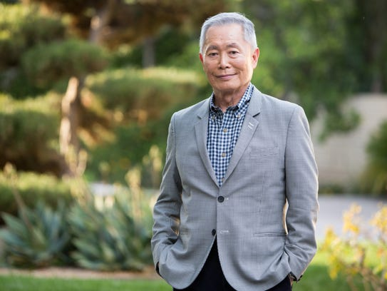 Star Trek original cast member George Takei denies