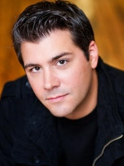 "Michael DiMucci, tenor and pianist, will perform a free ""virtual"" concert LIVE from the Linden Place Ballroom on Friday, June 19."