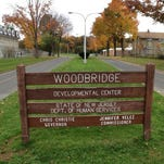 The entrance to the Woodbridge Developmental Center off Rahway Avenue in Woodbridge.