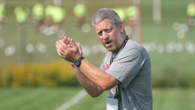 Hilton head football coach Rich Lipani is the winner of the first Coaches Who Care award of the fall season.