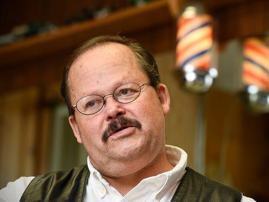 Tom Becker, owner of Toms Barber Shop, talks about
