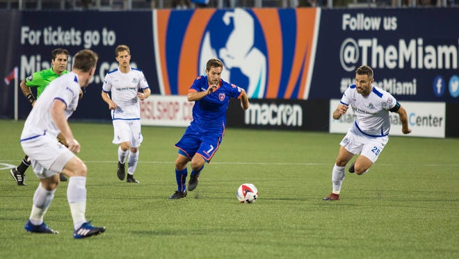 Dylan Mares, formerly of the Indy Eleven, now plays for Miami FC.