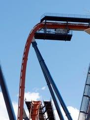 Cedar Point's new Valravn dive coaster will shatter