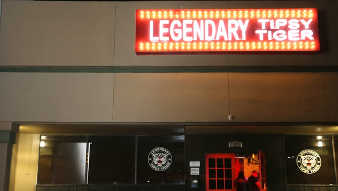 The Legendary Tipsy Tiger, 1590 George Dieter, is one of the most popular bars in El Paso.