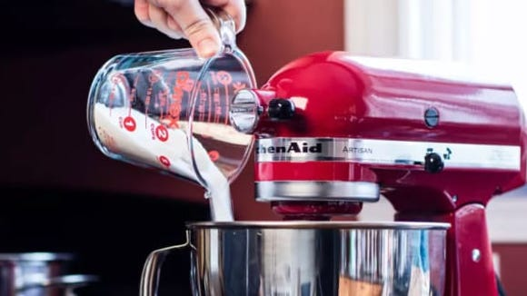 You can get a KitchenAid in tons of fun colors to match your kitchen.