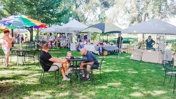 The second-annual Snus Hill Winery Showcase Summer Market, slated for July 17-18, will offer attendees a combination of in-person and online shopping. Contributed photo